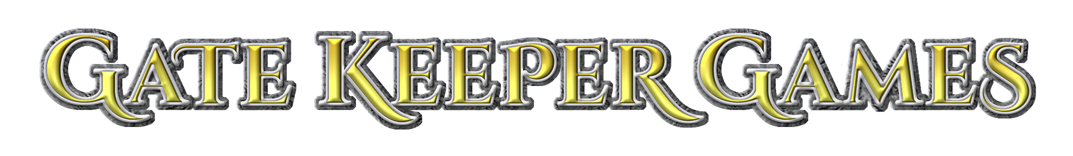 Gate Keeper Games in TKA lettering