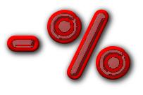 Fee percent red