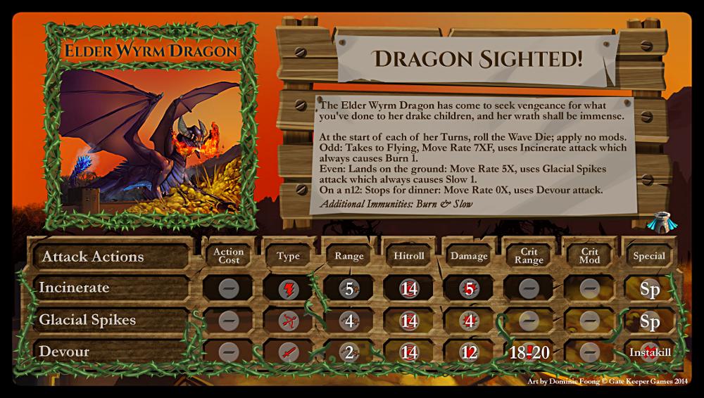 Boss Elder Wyrm Dragon
