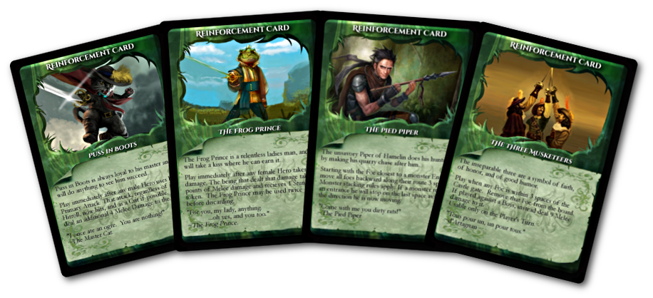 Fairy Tale 4 Reinforcment Cards