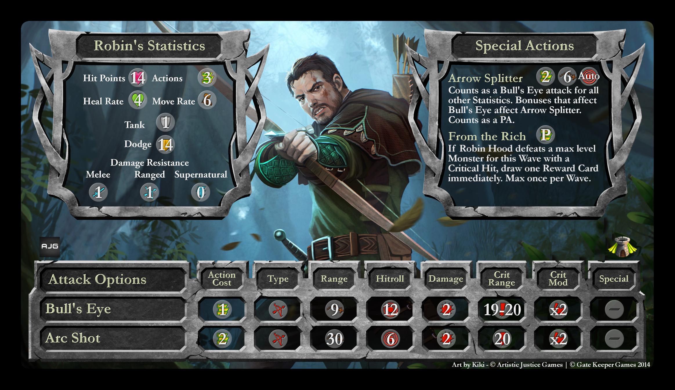 Hero Stat Card Robin Hood2