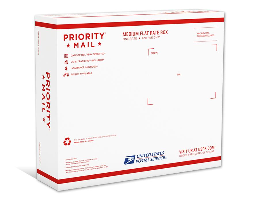 usps priority mail medium flat rate box 1