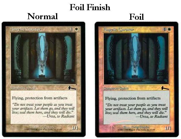 Foil Finish