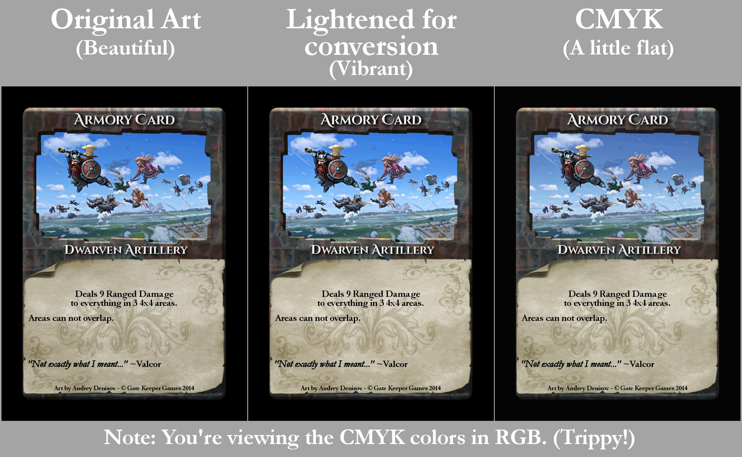 RGB vs. CMYK2