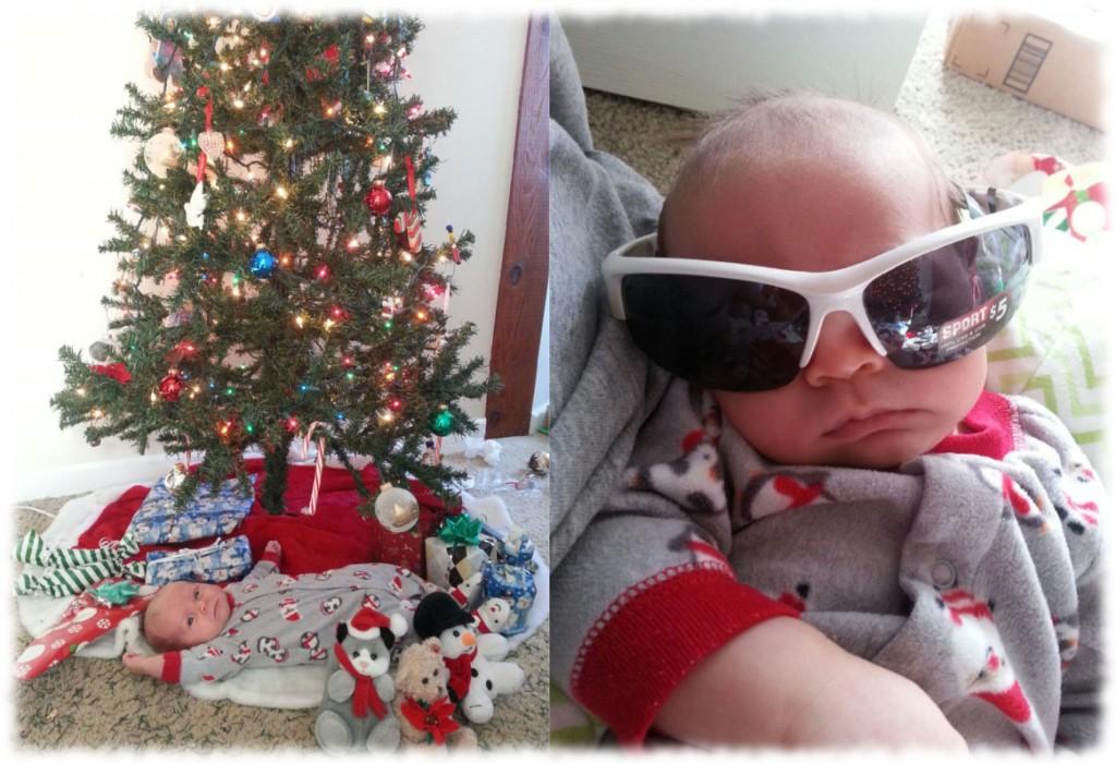 Baby John Christmas Pics