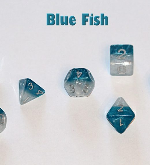 Blue Fish Dice