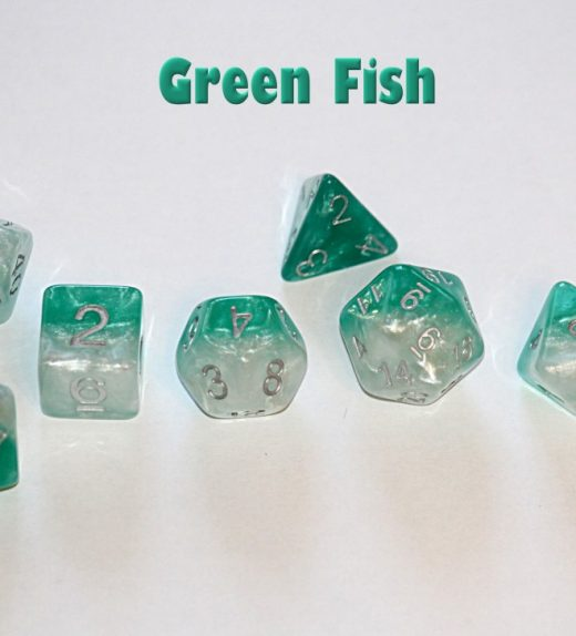 Green Fish Dice