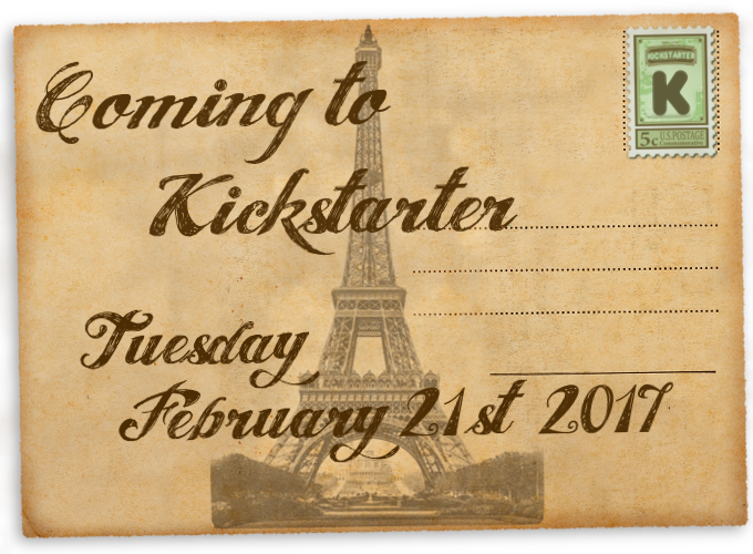 Coming to Kickstarter Announcement PNG
