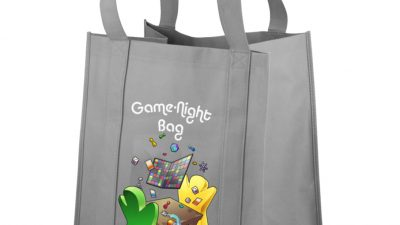 Game Night Bag: The Classic - Grey