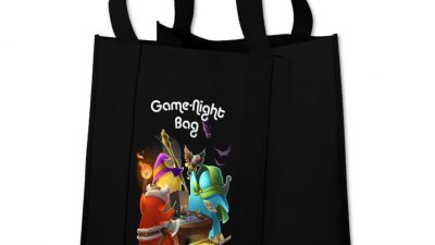 Game Night Bag: The DM's Bag of Holding - Black