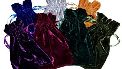 Dice Bags - Classy Velvet