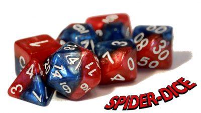 """Spider-Dice"" Halfsies Dice"
