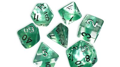 """Mint Green"" Neutron Dice"