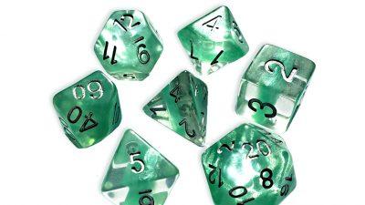 """Mint Green"" Neutron Dice"