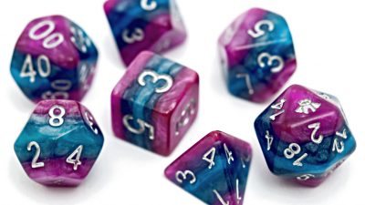 """THOUGHT"" Reality Shards Dice"