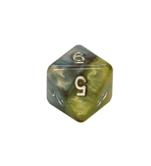 Treasury Dice d8
