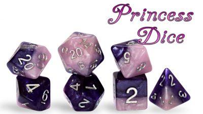 """Princess Dice"" Halfsies Dice"