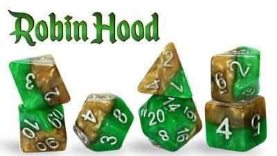 """Robin Hood"" Halfsies Dice"