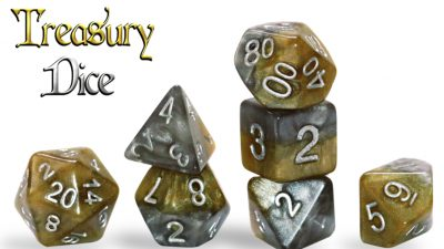 """Treasury Dice"" Halfsies Dice"