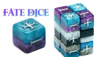 Fate/Fudge Dice - Classic Color Collection