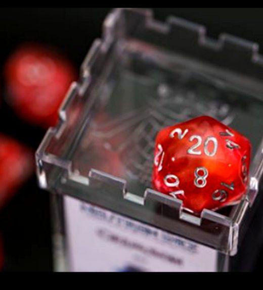 Neutron Crimson Case Topped