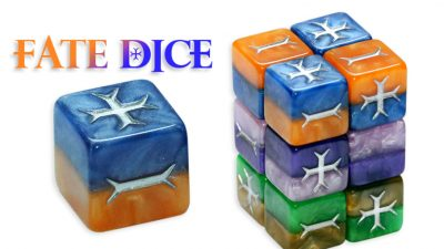 Fate Dice Royalty Collection
