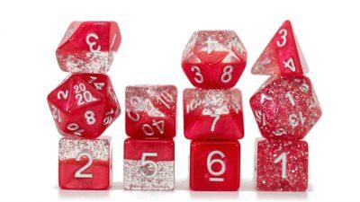 Glitter 11d Red