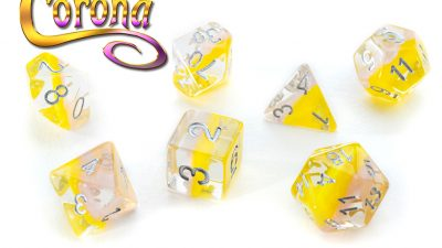 """Corona"" Eclipse Dice"