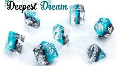 """Deepest Dream"" Eclipse Dice"