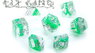"""Elf King"" Eclipse Dice"