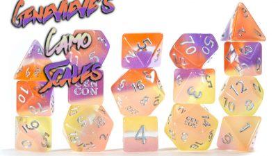 Gen Con 2021 - Genevieve's Camo Scales - Collector's Edition Set